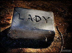 lady's tombstone (Kris Kros) Tags: california ranch ca usa dog halloween public graveyard cali museum lady photoshop puppy photography us bill interestingness high cool interesting nikon bravo pix photographer searchthebest dynamic cs2 tombstone william socal kris hart range hdr kkg 378 newhall photomatix pscs2 kros kriskros 5xp kk2k abigfave kkgallery