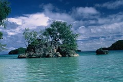 PALAU- Like a dream.. (BoazImages) Tags: ocean travel blue sea vacation sky sun seascape beach water beautiful topv111 rock clouds skyscape relax island pacific dream exotic tropical tropic tropics palau rockisland