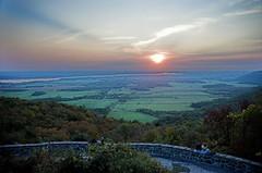 Sunset, Champlain Lookout (aylmerqc) Tags: sunset canada landscape geotagged quebec gatineaupark ottawariver outaouais champlainlookout utataview geolon75913339 geolat45508212
