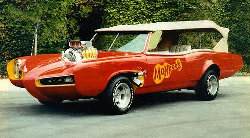 The Monkees Car a 1967 Pontiac GTO by antman67.