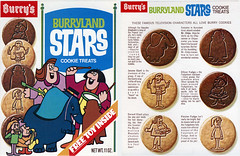 Burryland Stars cookie box
