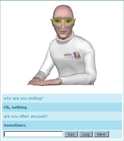 Jabberwacky bot