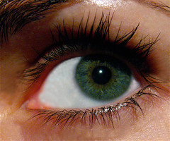 theeye (Nada*) Tags: green eye girl look lens lashes explore 225 interestingness225 i500
