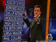 The Colbert Report: On Notice (B(three)N) Tags: brothel webjunk colbertreport m3lbatoast onnotice