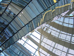 Reichstag Interior (mattrkeyworth) Tags: berlin germany deutschland sony reichstag allemagne p12 dscp12 lparch mattrkeyworth