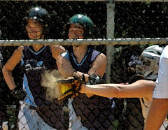 Throwing Heat (icesailr) Tags: digital ball newjersey nikon nj softball d200 catcher fastpitch nikond200 icesailr henrybossett