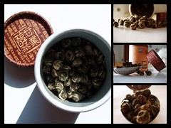 5 o' clock Tea: Jasmine (reloaded) (arte_molto_brutta_2) Tags: tea mosaic jasminetea