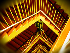 Yellow Staircase (Ch@rTy) Tags: london charlie tyack charlietyackcom