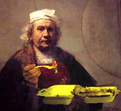 Rembrandt Kebab (Scuola di Atene) Tags: photoshop fastfood tony montage dada kebab rembrandt