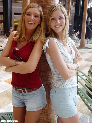 Denise & Jilleena - 8/22/03