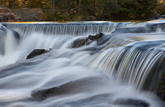 Bond Falls  Upper Cascades (James Marvin Phelps) Tags: water photography james michigan great lakes falls upper bond peninsula phelps bondfalls mandj98 savethewildup jmpphotography jamesmarvinphelps watersmeetmichigan statescenicsite