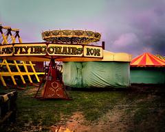 no circus today (jody9) Tags: film topf25 rain weather mediumformat landscape britain circus stormy fair utata pentax6x7 utatafeature utata:color=black utata:project=upportfolio