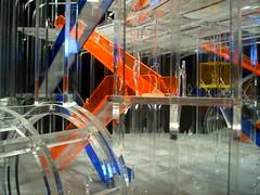 plastico progetto di Richard Rogers (marticia84) Tags: venice blu 2006 plastico rosso venezia metropolitana architettura richardrogers biennalearchitettura