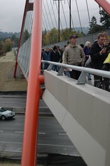 Three Bridges dedication ceremony