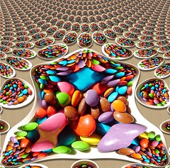 Would you care for some Smarties, Mr Mandelbrot ? (Man) Tags: blue wedding red food orange green yellow catchycolors purple candy sweet chocolate gimp sugar explore smarties fractal bonbon frosting mandelbrot mnms interestingness156 i500 gadl manuperez decayedtooth everydentistsnightmareanddearestdreamatthesametimeimquitesureofit