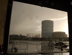 downpour (anecdote queen) Tags: london wow batterseapowerstation newlight chinapowerstation1 festivallondon
