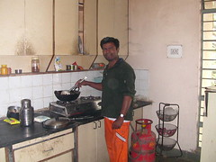 Mahavihara community kitchen   not the cleanest!