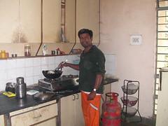 Mahavihara community kitchen   not the cleanest!