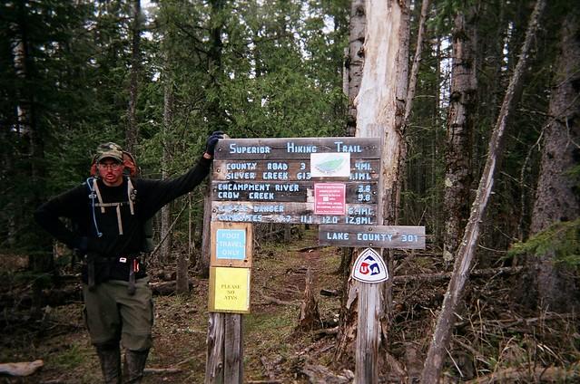 Superior Hiking Trail Thru-Hike May 2005