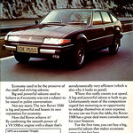 Rover SD1 Advert LOE755S