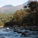 知床:Iwakobetsu river and Mt. MItsumine