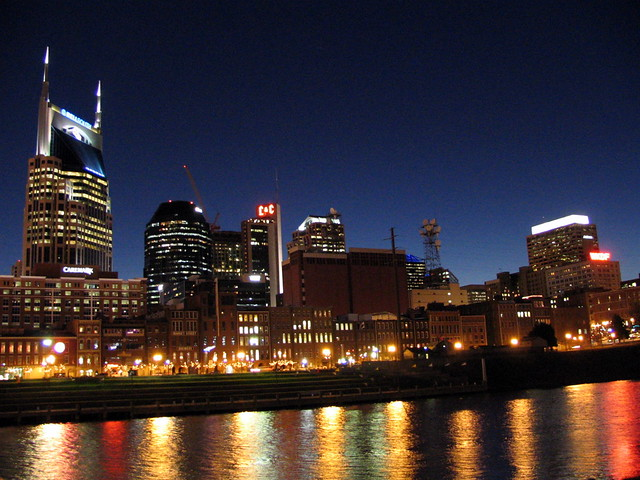 The Traditional Nashville Skyline view