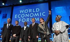 Bill Clinton, Bill Gates, Thabo Mbeki, Tony Bl...