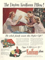 Koolfoam Pillow Ad (Cowtools) Tags: vintage magazine ad illo estatesale