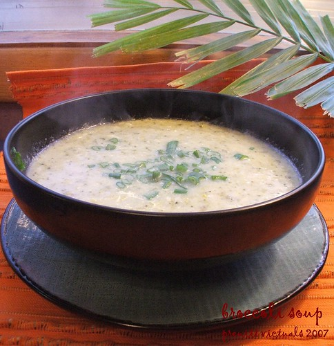 easy recipe cream of broccoli soup low fat