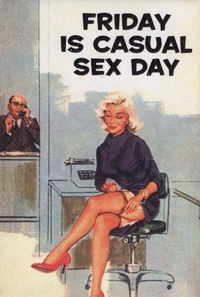 Петък, ден за непринуден секс
