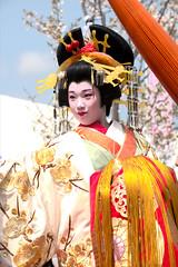 Geisha(花魁) (daigo harada(原田 大吾)) Tags: shizuoka festival event people oiran fashion costume geisha