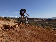 Steve on Porcupine Rim, Moab