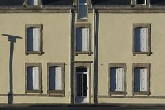 House with shadows (Jan van der Wolf) Tags: map174242v facade gevel gebouw house huis shadowplay schaduw schaduwen schaduwspel shadows windows ramen laturballe
