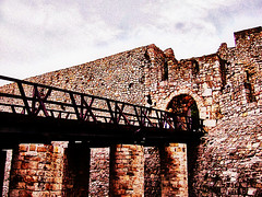 Kalemegdan bridge (Superoperater hero) Tags: beograd bridge gate kalemegdan medieval photos stone tvrdjava