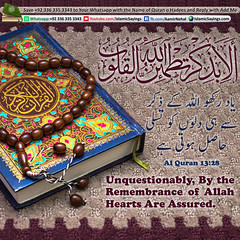 Unquestionably,-By-the-Remembrance-of-Allah-Hearts-Are-Assured. (aamirnehal) Tags: quran hadees hadith seerat prophet jesus moses book aamir nehal love peace quotes allah muhammad islam zakat hajj flower gift sin virtue punish punishment teaching brotherhood parents respect equality knowledge verse day judgement muslim majah dawud iman deen about son daughter brother sister hadithabout quranabout islamabout riba toheed namaz roza islamic sayings dua supplications invoke tooba forgive forgiveness mother father pray prayer tableegh jihad recite scholar bukhari tirmadhi