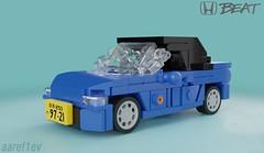 Honda Beat (aaref1ev) Tags: honda beat keicar kei car 5wide minifigure scale lego moc auto jdm japanese domestic market blender render mecabricks ldd digital desigher