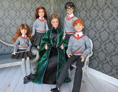 Gryffindor House (Foxy Belle) Tags: doll harry potter 2018 mattel walmart barbie skipper
