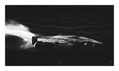 Slip Stream (picturedevon.co.uk) Tags: f1 formulaone mclarenf1 mercedesbenz motorsport racecar dc black red le smoke macro speed fast abscract motion air windtunnel studio canon wwwpicturedevoncouk