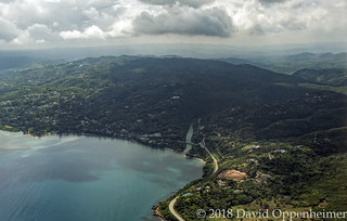 Great River Bay in Jamaica Aerial Photo