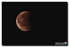 Ore 00.00 eclissi lunare (danilodld) Tags: luna cielo notturno eclissi lunare astrofotografia d7200serialnumber4351116 dldcopyright sanlorenzoalmare italy imperia