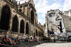 Jef Aereosol (blu69) Tags: paris parigi beaubourg jef aerosol street art salvador dalì