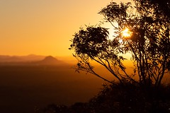It is in the character of very few men to honor without envy a friend who has prospered ~ Aeschylus ~ (Allieca Paterson) Tags: gold sunset canon australia mttinbeerwah noosa queensland sunshinecoast