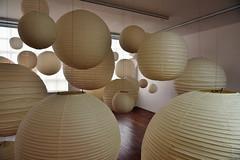 Akari Sculptures (Eddie C3) Tags: noguchimuseum sculpture isamunoguchi museums longislandcity queensnewyork