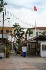 Checkpoint turkish border Nicosia, Cyprus