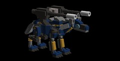 timber wolf mech 7sr(5) (demitriusgaouette9991) Tags: lego ldd army military wolf runner mecha