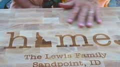 Cutting Board Presented (rudyg39) Tags: cuttingboard vacation sandpoint idaho lewisresort steve michele delmar73