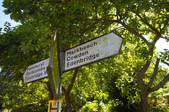 Kent Villages.. (Adam Swaine) Tags: signs signposts village villages villagesigns villagenames kent kentishvillages england english englishvillages uk ukcounties ukvillages broads rural ruralkent ruralvillages canon counties countryside trees sunlight