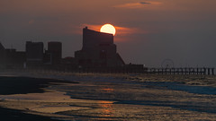 Atlantic City at Sunrise (PMillera4) Tags: atlanticcity sunrise dawn beachsunrise jerseyshore newjersey beach