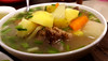 HOME COOKING (Roving I) Tags: vietnamesecuisine homecooking dining food pork soup sweetpotatoes danang vietnam
