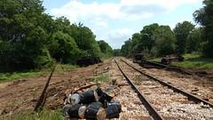 IMG_20180418_142430974 (LnCS) Tags: giddings line railroad rehab rehabilitation construction texas sp htc austin western
